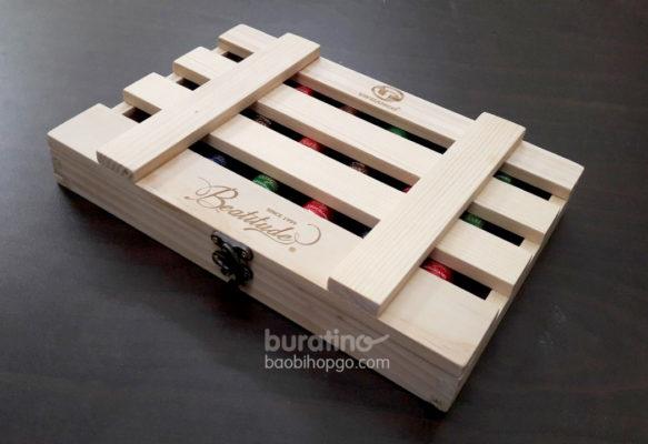 hộp gỗ chocolate